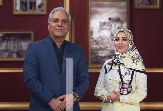 خانم مجری، مهمان امشبِ مهران مدیری در «دورهمی»