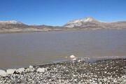 دریاچه «کافتر» اقلید بعد از 15 سال پر آب شد