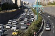 آمار عجیب افزایش ترافیک پایتخت/ ترافیک دیروز تهران ۷۵ درصد افزایش داشت