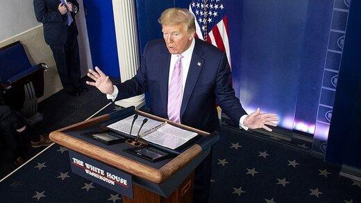 ترامپ خبر داد: 80میلیون آمریکایی بسته حمایتی دریافت کرده اند