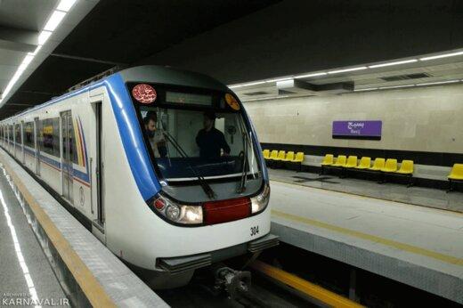 ببینید | شیوه استفاده از مترو در روزهای کرونایی