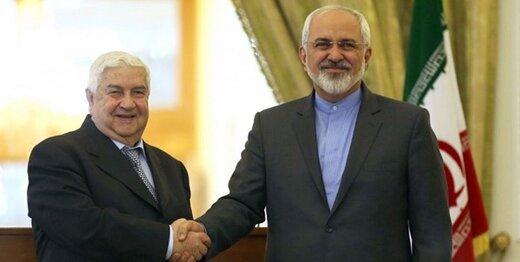 ببینید| استقبال از ظریف در دمشق/چرا وزیر خارجه در بحبوحه کرونا به سوریه رفت؟