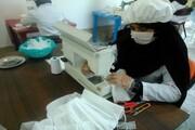 فعالیت های خواهران طلبه گله دار استان فارس در مبارزه با کرونا ادامه دارد