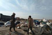 ببینید | جمعآوری ۱۰۰۰ زبالهگرد در جنوب پایتخت