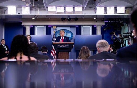 ترامپ:کرونا را شکست دادم/ایران فقط می خواهد زنده بماند/ تهران بخواهد هزاران ونتیلاتور به ایران سرازیر می کنیم/کری گفته صبر کنید تا ترامپ ببازد