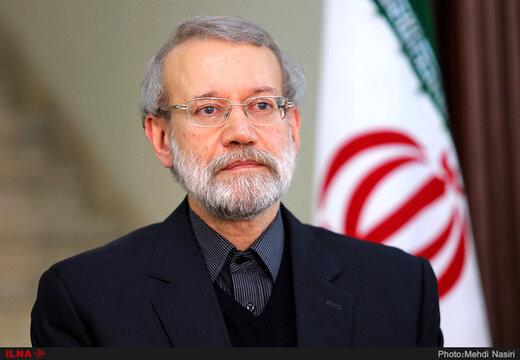 لاريجاني يتطلع الى مزيد من التآلف بين الامة الاسلامية ببركة الشهر الفضيل