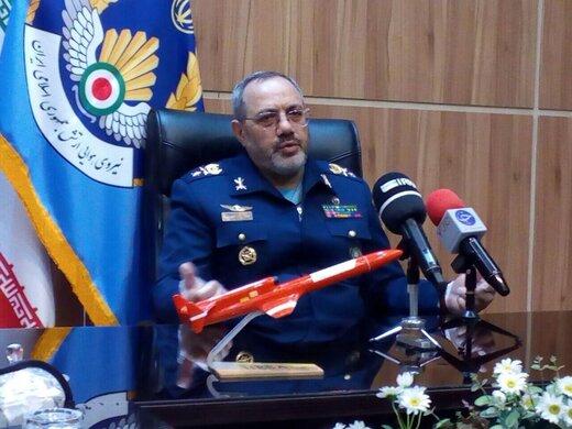 ابابیل ۳ با مجهز شدن به موشک و مهمات به ناوگان هوایی کشور الحاق شد /روایت فرمانده نیروی هوایی ارتش از تست بمب ۵۰۰ یوندی بر روی پهپاد کرار