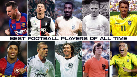 Best football players in the history