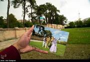 تصاویر   ابتکار خلاقانه در عکاسی از مقبره سعدی شیرازی