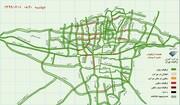 ببینید | وضعیت ترافیکی تهران در اولین روز بازگشایی پاساژها