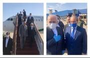 دیدار ظریف با بشار اسد و المعلم با فاصله اجتماعی/عکس