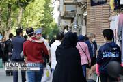 ببینید | خطر مرگ با کرونا در یک بازار مهم تهران !