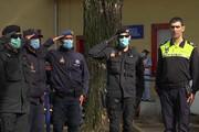 ببینید | قدردانی ماموران پلیس پرتغال از پرستاران و پزشکان