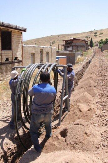 ۲۹۱کیلومتر شبکه گازرسانی در قزوین احداث شد