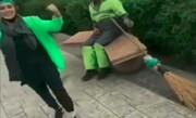 واکنش پلیس به کلیپ رفتار نامناسب سحر قریشی با یک پاکبان