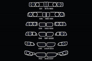 عکس | سیر تحول چراغ های BMW سری ۳