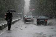 باران در جادههای شمالی میبارد