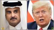 ترامپ و امیر قطر توافق کردند