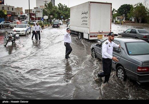 هشدار درباره طغیان رودخانهها و آبگرفتگی در ۶ استان
