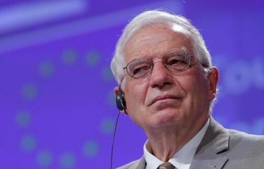 موضعگیری بورل نسبت به تحریم تسلیحاتی ایران
