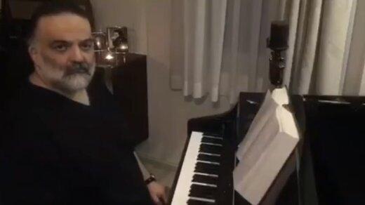 ببینید | علیرضا عصار:دو سال است از نزدیک میبینم پزشکان و پرستاران چقدر زحمت میکشند، بهترین آهنگم تقدیمشان