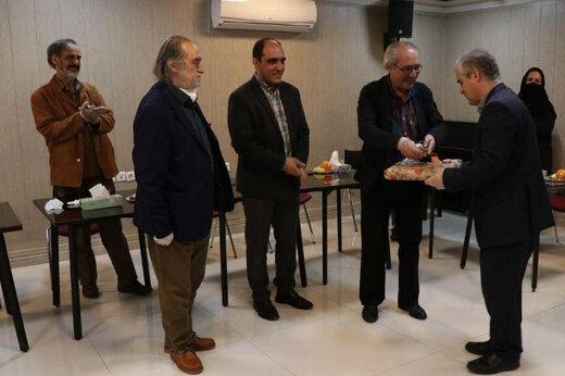 تاکید بر ارتقای ساختاری موسسه «هنرمندان پیشکسوت» در مراسم تقدیر از مدیرعامل سابق