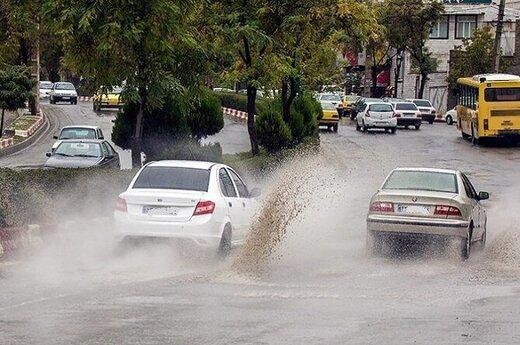 هشدار نارنجی سازمان هواشناسی درباره تشدید فعالیت سامانه بارشی