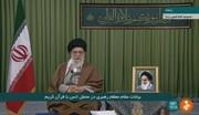 قائد الثورة: من الاوامر القرآنية المهمة عدم الخشية من العدو والوقوف امامه بقوة