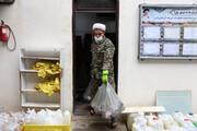 بسیجیان در این محله پرخطر کرونایی، برای مستأجران ریش گرو میگذارند /کار جهادی در اینجا دل شیر میخواهد +عکس