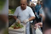 ببینید | صحنه ای جذاب از چی کوفته های علی اوستا در زمان رونق گردشگری در ترکیه!