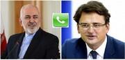 وزيرا خارجية ايران واوكرانيا يبحثان في آخر المستجدات حول ملف الطائرة الاوكرانية