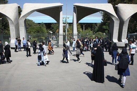 خوابگاههای دانشگاه تهران فعلا تعطیل میماند
