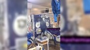 ببینید | اولین تخت ایزوله ICU کرونای بیمارستان مسیح دانشوری را ببینید