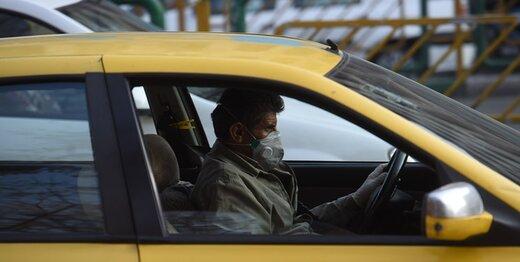 نیمی از مسافران تاکسی آب رفتند؛ رانندگان مجاز به سوار کردن ۳ نفر هستند