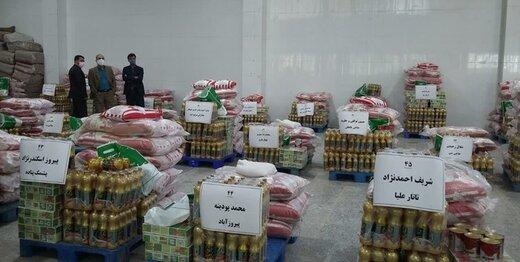 مرکز خیریه امید صباح ۱۵۰۰۰ بسته معیشتی در گلستان توزیع میکند