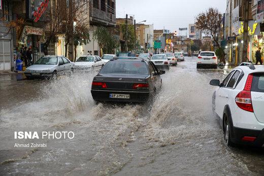 هشدار سازمان هواشناسی نسبت به تشدید بارشها