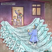 بازگشت این پرستار به آغوش خانوادهاش را ببینید!