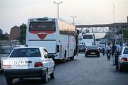 سیل مسافران ورودیهای مشهد را پرترافیک کرد