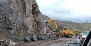 ریزش کوه در آزادراه تهران-شمال/ خسارت ۱۳ هزار میلیارد تومانی سیلاب به جادهها