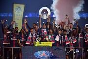 پاریسنژرمن قهرمان لیگ نیمهکاره فرانسه میشود