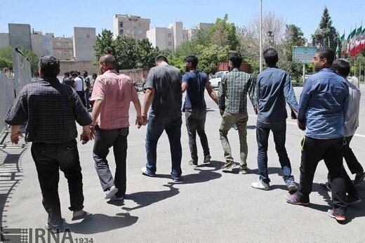 دستگیری ۱۴ سارق مسلح در هفته گذشته