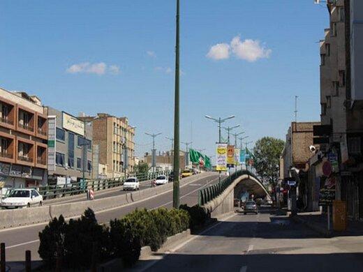 تقاطع های شهر قزوین زمانبندی می شود