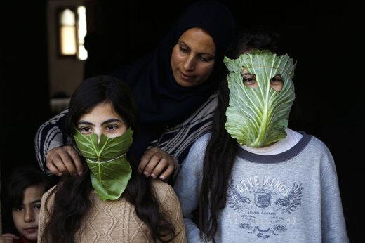 ماسک های عجیب و غریب مردم