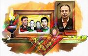 پیکر برادرِ شهید حسن تهرانیمقدم، به خاک سپرده شد