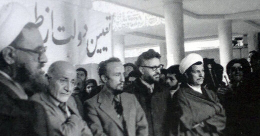 عکسی کمتر دیده شده از رهبر انقلاب، آیتالله مطهری و هاشمی رفسنجانی