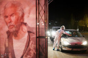 ببینید | حال و هوای اولین شب اکران فیلم در «سینما ماشین» تهران