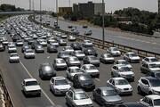 آزادراه کرج-تهران قفل شد