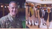 بگومگوی جنجالی سخنگوی طالبان با نظامی آمریکایی در توئیتر