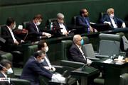 ببینید | فاصله گذاری اجتماعی در صحن علنی مجلس رعایت نشد
