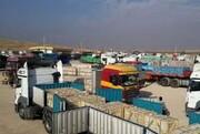 حجم صادرات از مرز ماهیرود ۴۴ درصد افزایش یافت